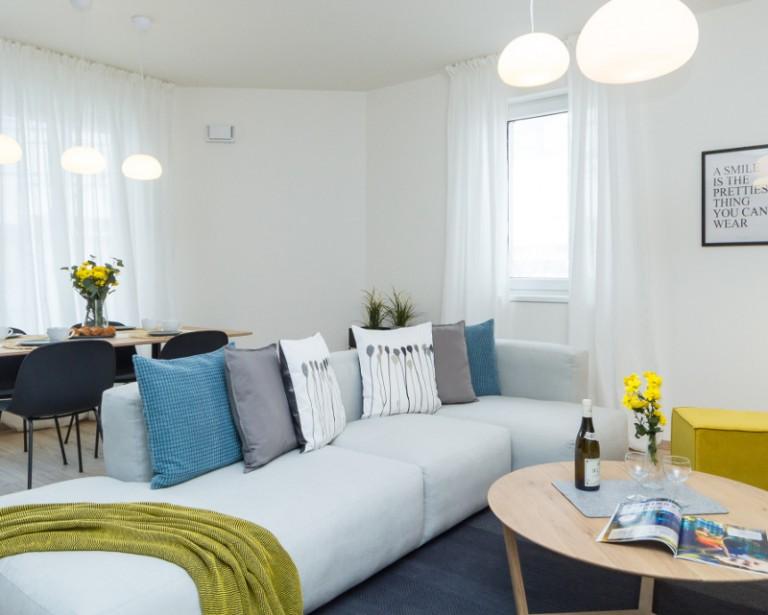 Vzorový byt v projekte Premiѐre