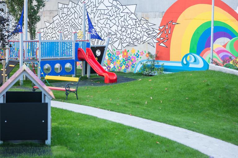 We have restored the playground at the Beskydská Kindergarten